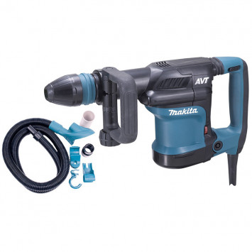 Marteau burineur AVT SDS max 1100W 8 J avec set d'aspiration - MAKITA HM0871CV