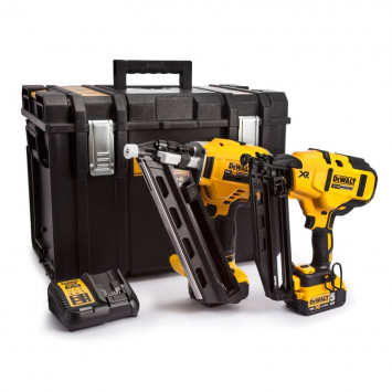 Pack double cloueur de charpente (DCN692) + Cloueur de finition (DCN660) - DEWALT DCK264P2
