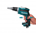 Visseuse à placo 18V Li-Ion (machine seule) - MAKITA DFS452Z