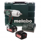 Visseuse à chocs 18V Li-Ion (2x 5.2 Ah) 600 Nm en coffret Metaloc - METABO SSW18LTX 600