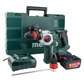 Marteau perforateur 18V (2x 4Ah) en coffret Metaloc - KHA18LTX 24 Quick Metabo