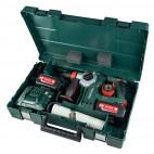 Marteau perforateur 18V (2x 4Ah) en coffret Metaloc - KHA18LTX 24 Quick Metabo