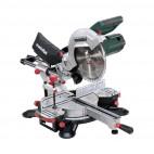 Scie à onglet et radiale avec laser 1800W avec support KSU - METABO KGS254M