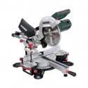 Scie à onglet et radiale avec laser 1800W - METABO KGS 254 M