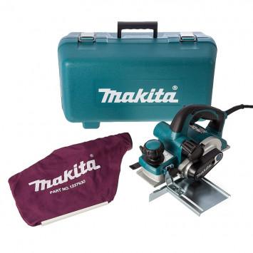Rabot électrique 1050W 82mm dans coffret - Makita KP0810CK