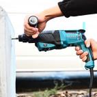 Perforateur burineur SDS+ 800W dans coffret plastique - MAKITA HR2630TX12