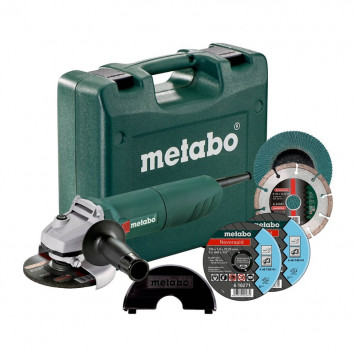 Meuleuse d'angle 125 mm - METABO W1150-125SET
