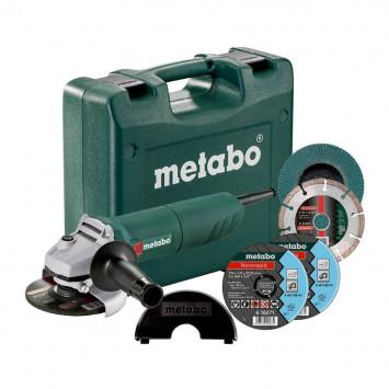 Meuleuse d'angle 125 mm - METABO W1150-125SET