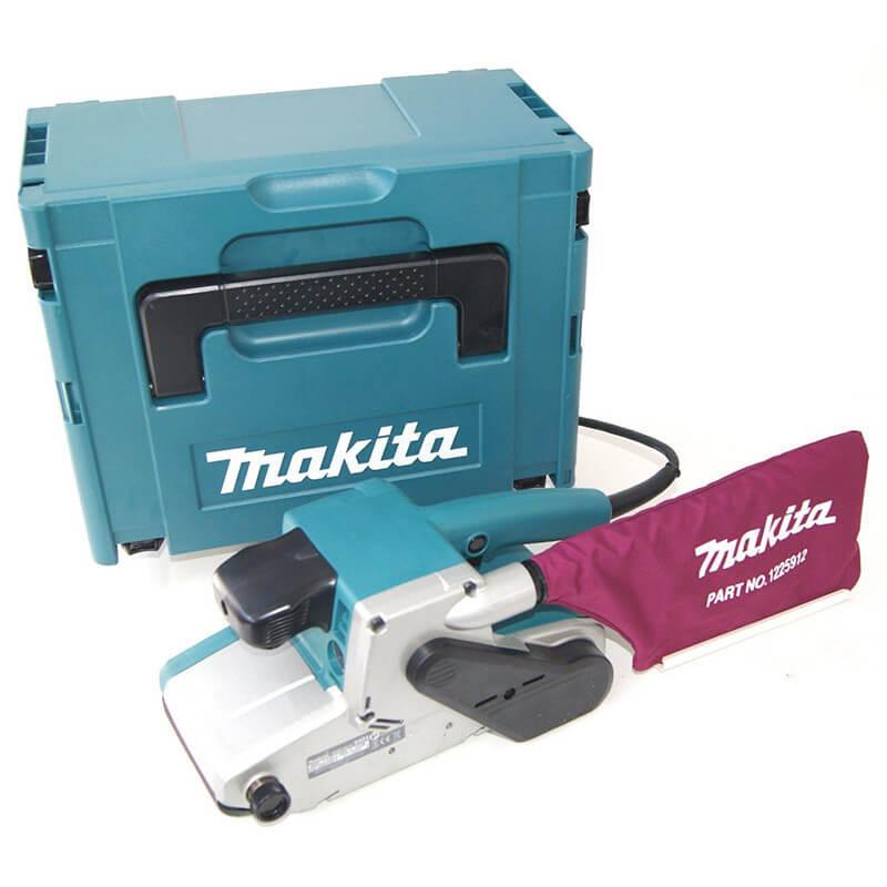 Ponceuse à bande 650W 76mm dans coffret Makpac - MAKITA 9911J