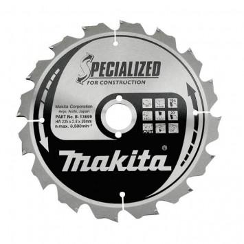 Lame de scie Circulaire carbure 210 mm - MAKITA B-27246