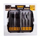 Coffret de 8 mèches à bois plates pour perceuse - DeWalt DT7943B