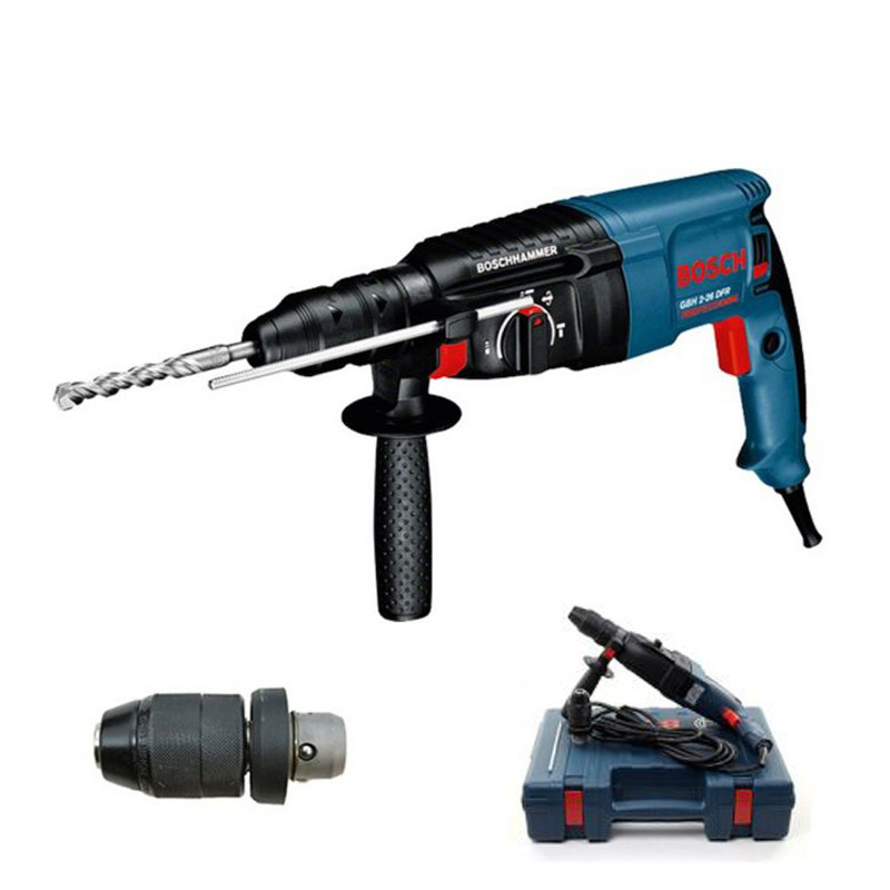 Perforateur burineur SDS-Plus 800W - BOSCH GBH2-26-DFR