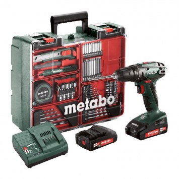 Perceuse visseuse Metabo BS18LI-SET