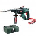 Marteau perforateur 18V LTX (Machine seule) en coffret MetaLoc - METABO KHA18LTX
