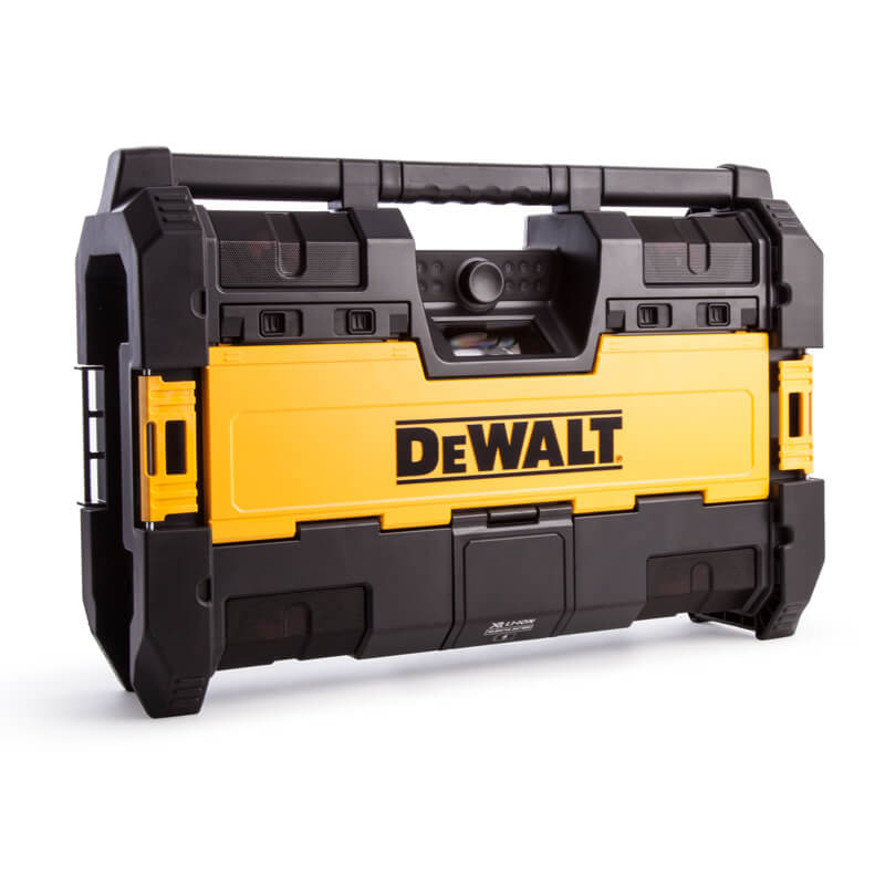 Radio de chantier DAB + TOUGHSYSTEM 6 haut-parleurs - Dewalt DWST1-75663