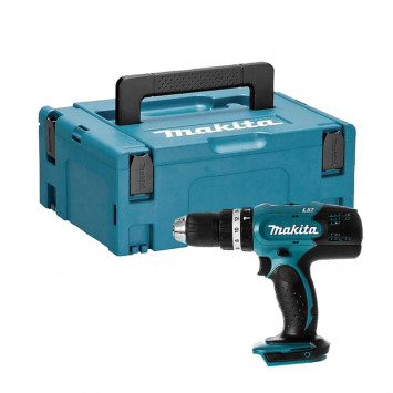 Perceuse visseuse à percussion 18V Li-Ion (machine seule) - MAKITA DHP453ZJ