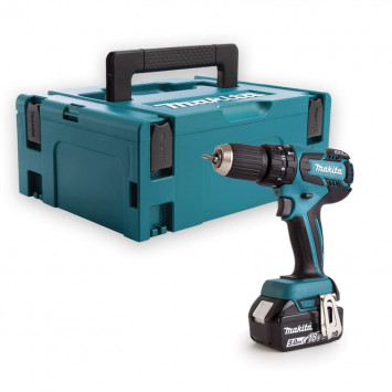 Perceuse visseuse à percussion 18V Li-Io (Machine seule) - MAKITA DHP459ZJ