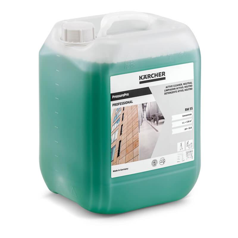 Détergent actif PressurePro. neutre RM 55. 10 Litres - KÄRCHER 62950900