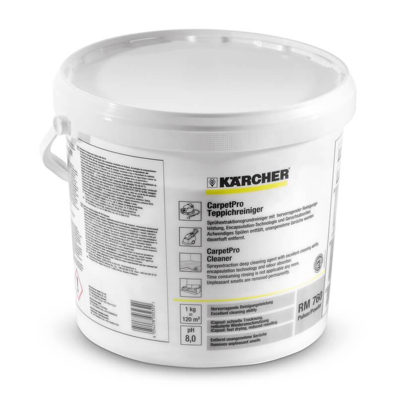Nettoyant pour moquettes RM 760 CarpetPro en poudre. 10 kg - KÄRCHER 62958470