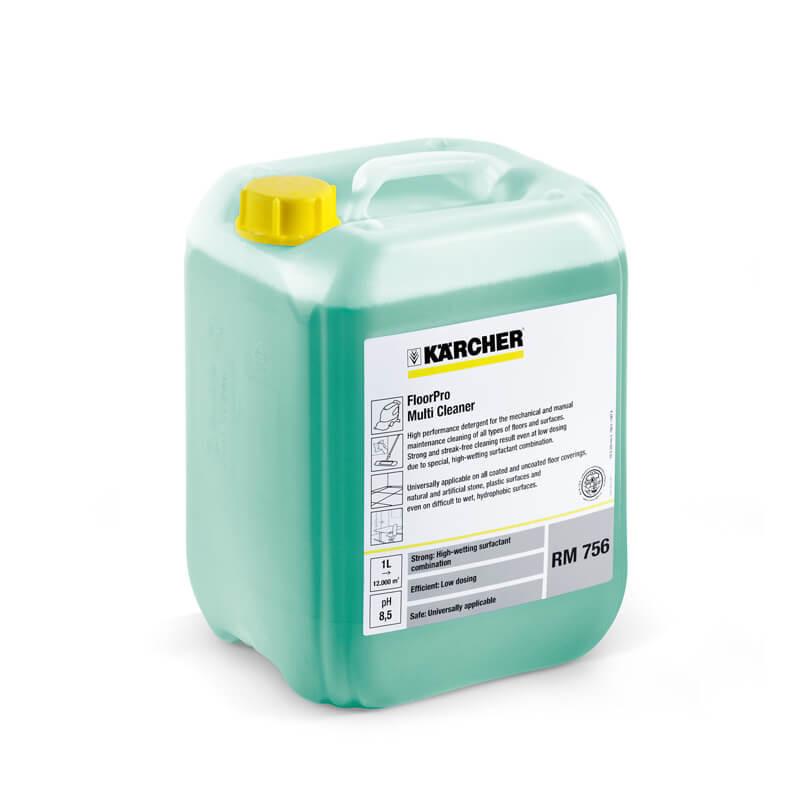 Détergent multisurface FloorPro RM 756. 10 litres. - KÄRCHER 62959140