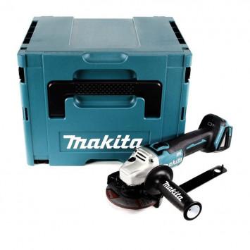 Meuleuse d'angle 125 mm 18V Li-Ion (machine seule) dans MAKPAC Makita DGA504ZJ