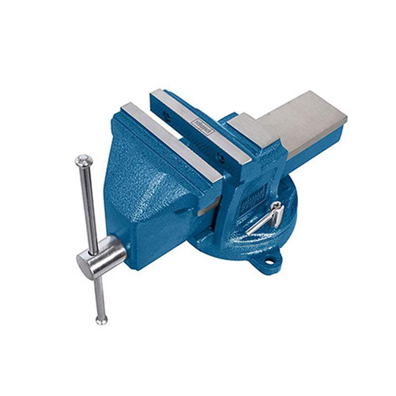 Etau professionnel avec base tournante - 125 mm - SCHEPPACH 5912602900(VS125U)