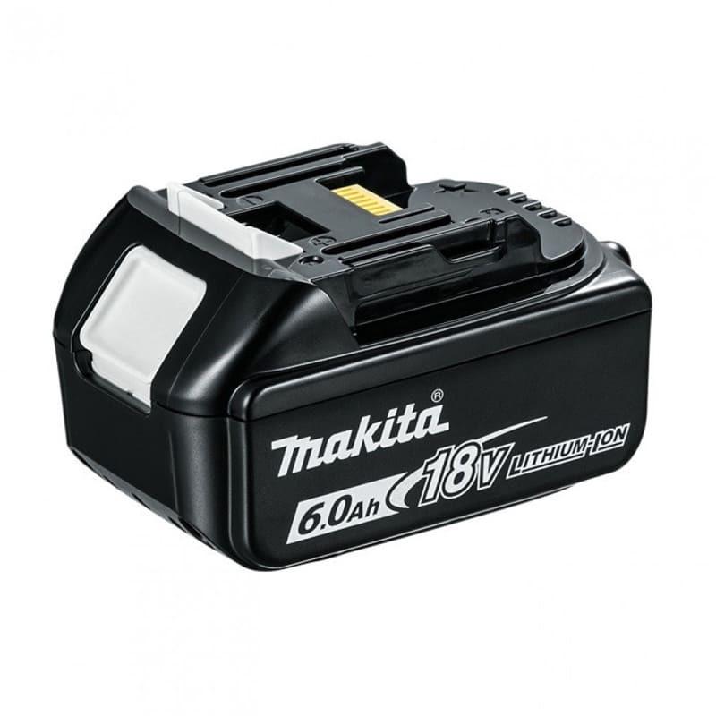 Batterie pour outil sans fil 18 V Li-Ion 6,0 Ah avec indicateur de charge - MAKITA BL1860B