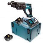 Perforateur burineur SDS-Plus 18V LXT dans coffret Makpac - MAKITA DHR202RMJ