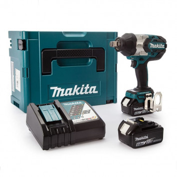 Boulonneuse à chocs 18V Li-Ion 5.0Ah 1050Nm - MAKITA DTW1001RTJ