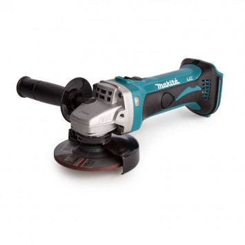 Meuleuse d'angle Ø115mm 18V Li-Ion (machine seule) - MAKITA DGA452Z