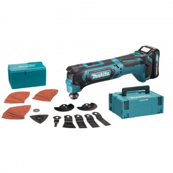 Outil multifonctions oscillant à batteries CXT 10 - MAKITA TM30DSAJX3