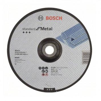 Disque à tronçonner à moyeu déporté 230 x 3,0 x 22,23 mm - BOSCH 2608603162