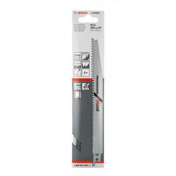 Lame de scie-sabre S 2345 X, Progressor for Wood, 200 mm 2 pc(s) - BOSCH 2608654403