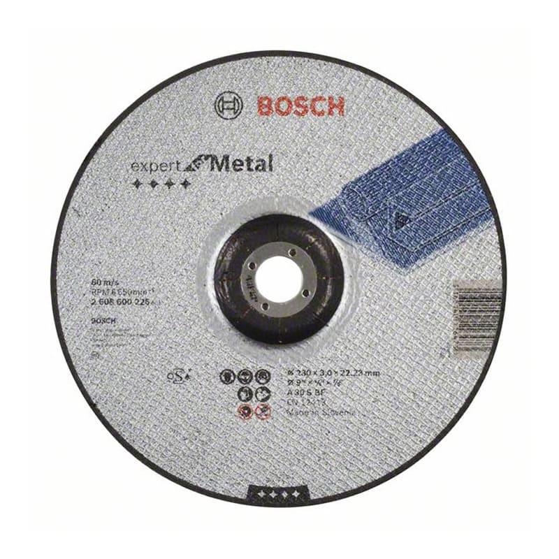 Disque à tronçonner à moyeu déporté 230 x 3 x 22,23 mm - BOSCH 2608600226