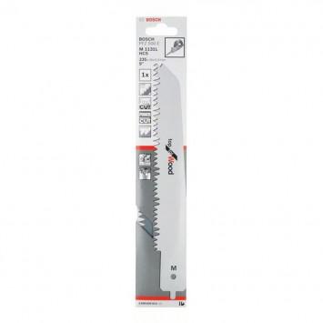 Lame de scie-sabre M 1131 L pour scie égoïne multifonction Bosch PFZ 500 E, Top for Wood - BOSCH 2608650414
