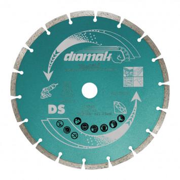 Disque diamant DIAMAK Ø230 mm pour meuleuse - MAKITA D-61145