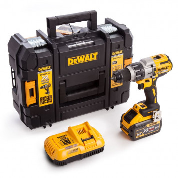 Perceuse visseuse à percussion BL 18 V XRP (1x 9,0 Ah) en coffret - DEWALT DCD996X1-GB