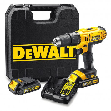 Perceuse visseuse à percussion 18 V (2x1.3 Ah) - DEWALT DCD776C2