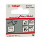 """Scie trépan Progressor bois et métaux 1/4"""" Ø32 mm - Bosch 2608584624"""
