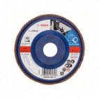 Disque à lamelles, plateau Ø 115mm Grain 60 - Bosch 2608607335