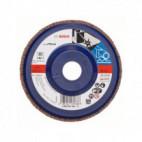 Disque à lamelles, plateau Ø 125mm Grain 80 - Bosch 2608607340