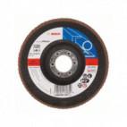 Disque à lamelles, plateau Ø 125mm Grain 120 - Bosch 2608607347