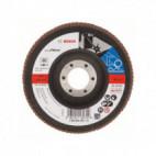Disque à lamelles, plateau Ø 115mm Grain 80 - Bosch 2608605452