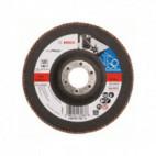 Disque à lamelles, plateau Ø 125mm Grain 120 - Bosch 2608607329