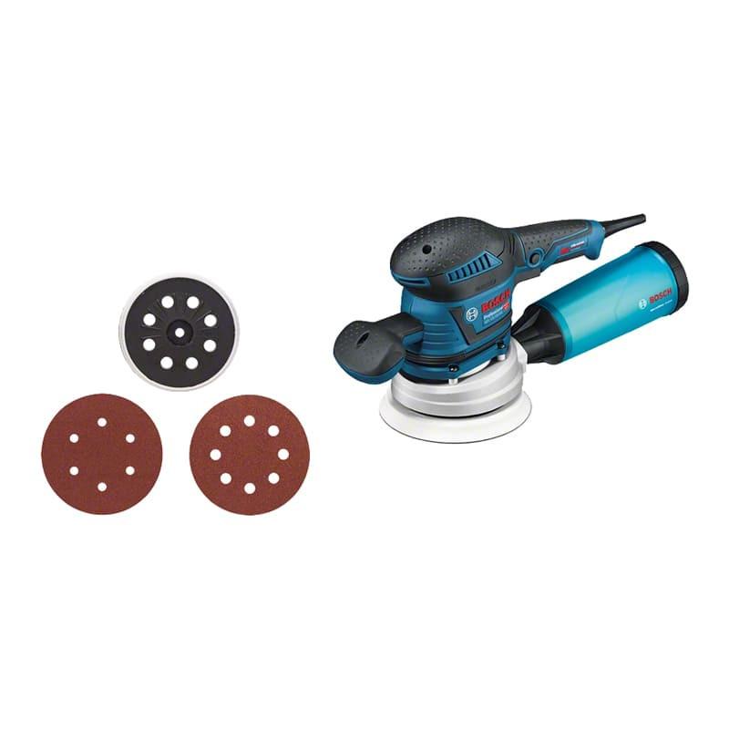 Ponceuse excentrique 400W 150 et 125 mm - BOSCH 060137B102