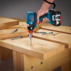 Visseuse à chocs/boulonneuse (machine seule) dans boîte en carton - BOSCH GDX18V-EC