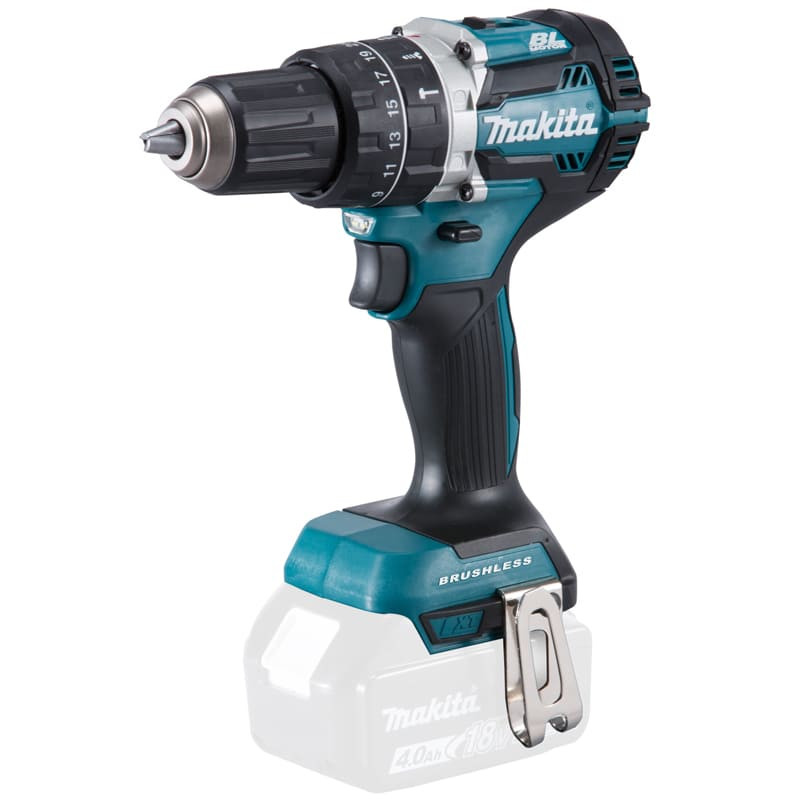 Perceuse visseuse à percussion 18V Li-Ion (Machine seule) - MAKITA DHP484Z