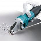 Cisaille métal 380W coupe droite jusqu'à 1,6 mm - Makita JS1601J