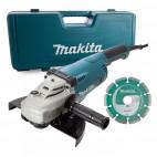 Meuleuse Ø230mm 2200W avec disque et coffret - MAKITA GA9020KD