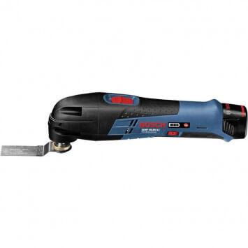 Outil multifonctions (2x 2,5Ah) avec accessoires en coffret L-Boxx - Bosch GOP10.8V-LI